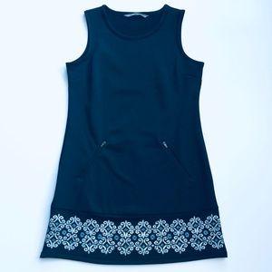 Athleta Sleeveless Women's Black Casual Dress